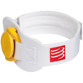 Compressport Timing Chipband White